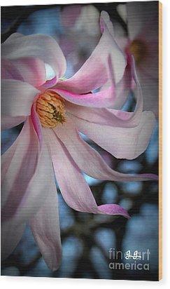 Blushing Wood Print by Geri Glavis