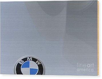 BMW Wood Print by Andres LaBrada