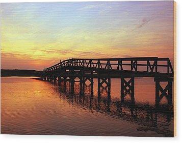 Boardwalk To Heaven 2 Wood Print by Matthew Grice
