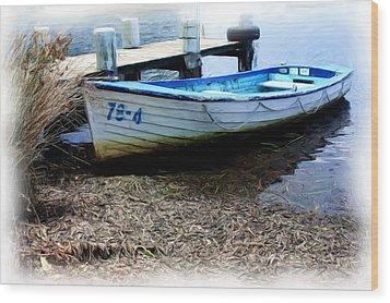 Boat 78-4 Wood Print by Ian  Ramsay