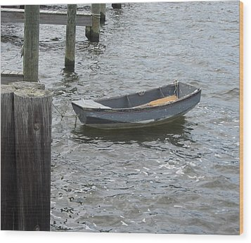 Wood Print featuring the photograph Boats And More Boats 3 by Cathy Lindsey