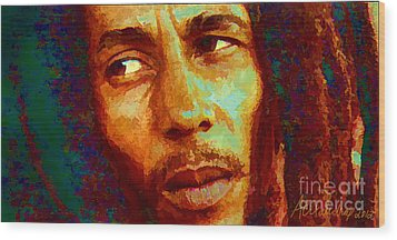 Bob Marley One And Only Wood Print