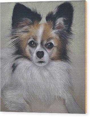 Bobbie - Pastel Wood Print