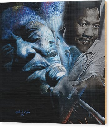Bobby Blue Bland Wood Print
