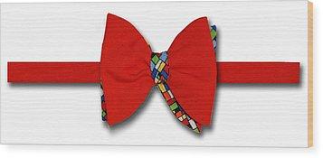 Bodacious Bow-tie Wood Print