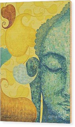 Bodhi Wood Print by Yuliya Glavnaya