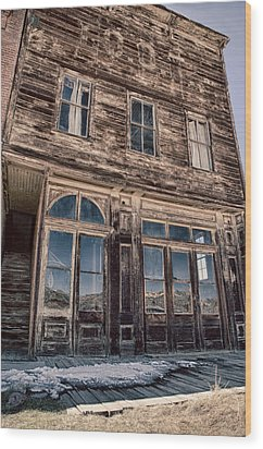Bodie Wood Print by Cat Connor