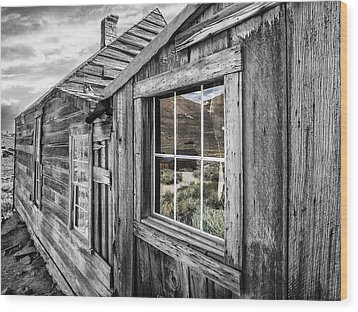Bodie Gold Mining Ghost Town Wood Print