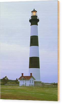 Bodie Light 4 Wood Print by Mike McGlothlen