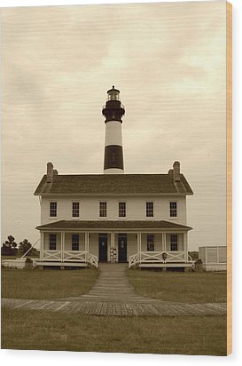 Bodie Light  Wood Print by Kelly Nowak