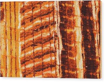 Body Heat Wood Print by Ayse Deniz