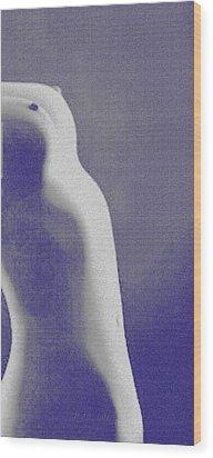 Body Waves 7 Wood Print by Piety Dsilva