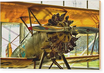Boeing 100p Fighter Wood Print