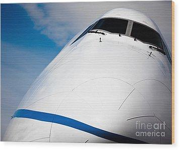 Boeing 747 Wood Print by Rastislav Margus