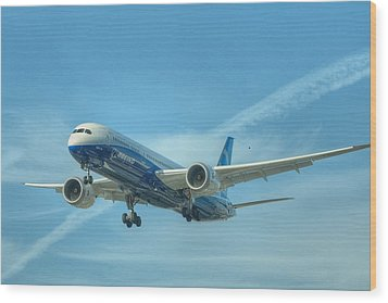 Boeing 787-9 Wood Print by Jeff Cook