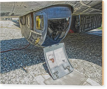 Boeing Flying Fortress B-17g  -  06 Wood Print by Gregory Dyer