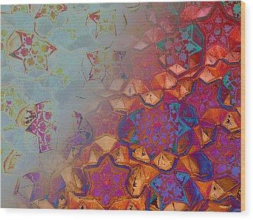 Bokhara Muqarnas Wood Print