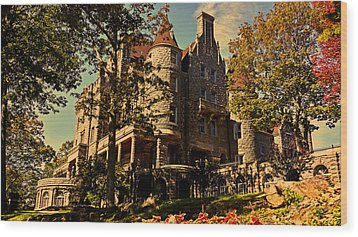 Boldt Castle 001 Wood Print by George Bostian