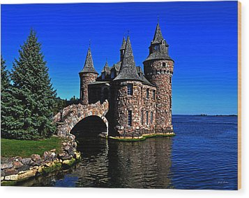 Boldt Castle - Power House 001 Wood Print by George Bostian