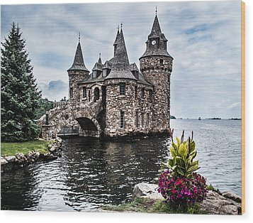 Boldt's Castle Tower Wood Print by Debbie Green