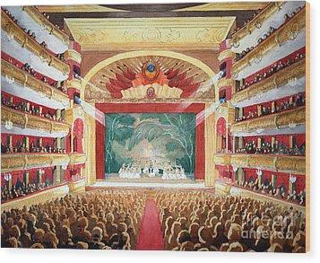 Bolshoi Ballet Wood Print