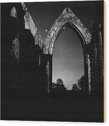 Bolton Abbey Yorkshire Wood Print by Mark Preston