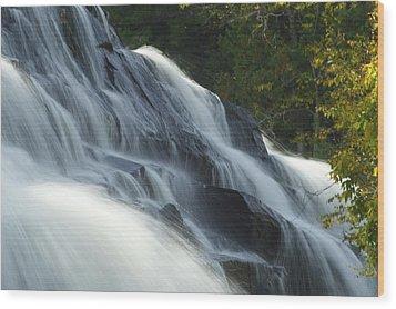 Bond Falls Wood Print