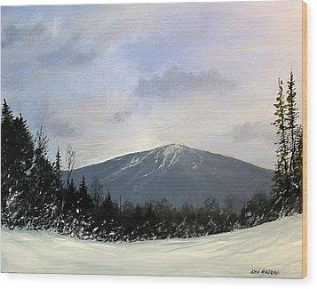 Bondville Vista Wood Print by Ken Ahlering
