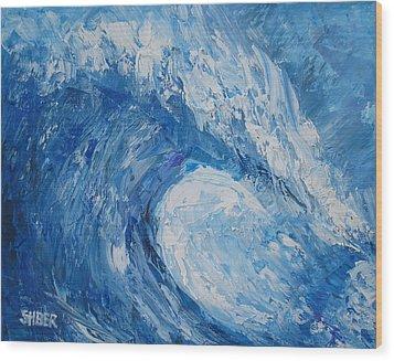 Bonsai Wave Wood Print