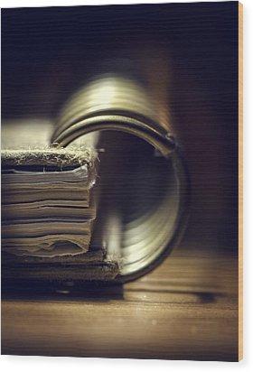 Book Of Secrets Wood Print