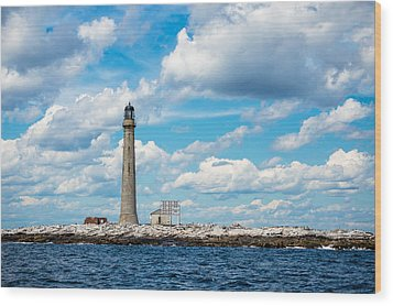 Boon Island Light Station Wood Print by James  Meyer