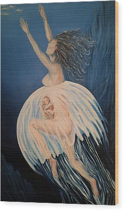 Born Of Water - Naitre De L'eau Wood Print