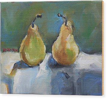 Bosc Pears Wood Print