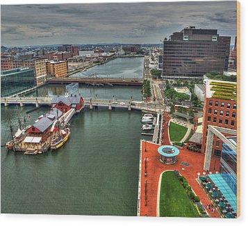 Boston 4020 Wood Print