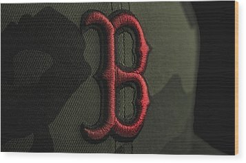 Boston Red Sox Wood Print