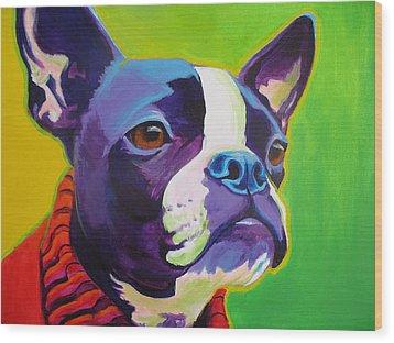 Boston Terrier - Ridley Wood Print