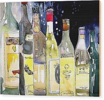 Bottles No 1 Wood Print