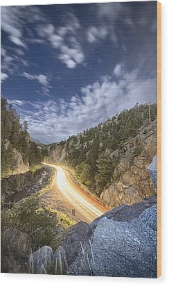 Boulder Canyon Dream Wood Print by James BO  Insogna