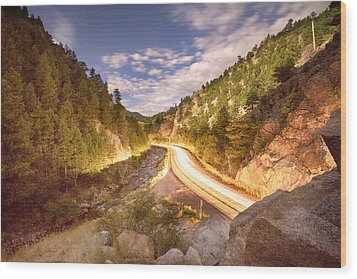 Boulder Canyon Dreamin Wood Print by James BO  Insogna