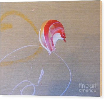 Wood Print featuring the painting Bouquet 4 by Nancy Kane Chapman