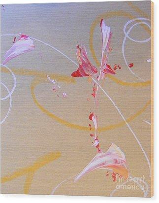 Bouquet 6 Wood Print by Nancy Kane Chapman