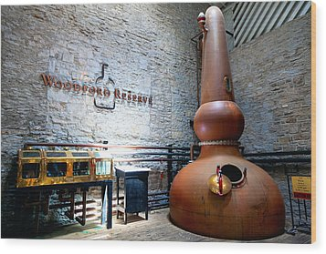 Bourbon Distillery Wood Print