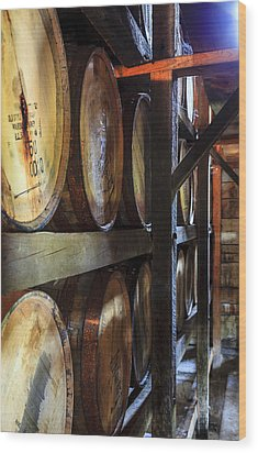 Bourbon Warehouse Wood Print
