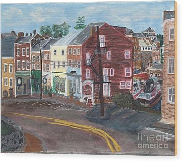 Bow Street Number 2 Wood Print