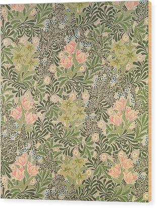 Bower Design Wood Print by William Morris