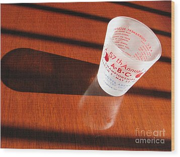 Wood Print featuring the photograph Bowling History by Michael Krek
