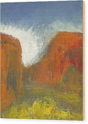 Box Canyon Wood Print