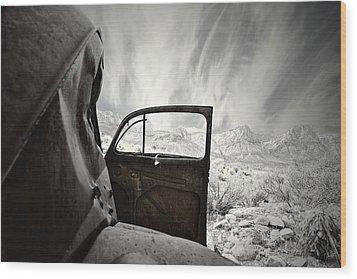 Box Seats Wood Print