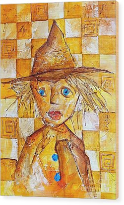 Boy 621-12-13 Marucii Wood Print by Marek Lutek