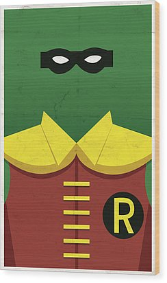 Boy Wonder Wood Print